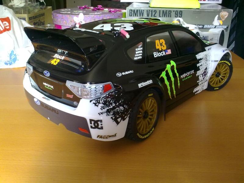kyosho drx ep : rally game 25042011