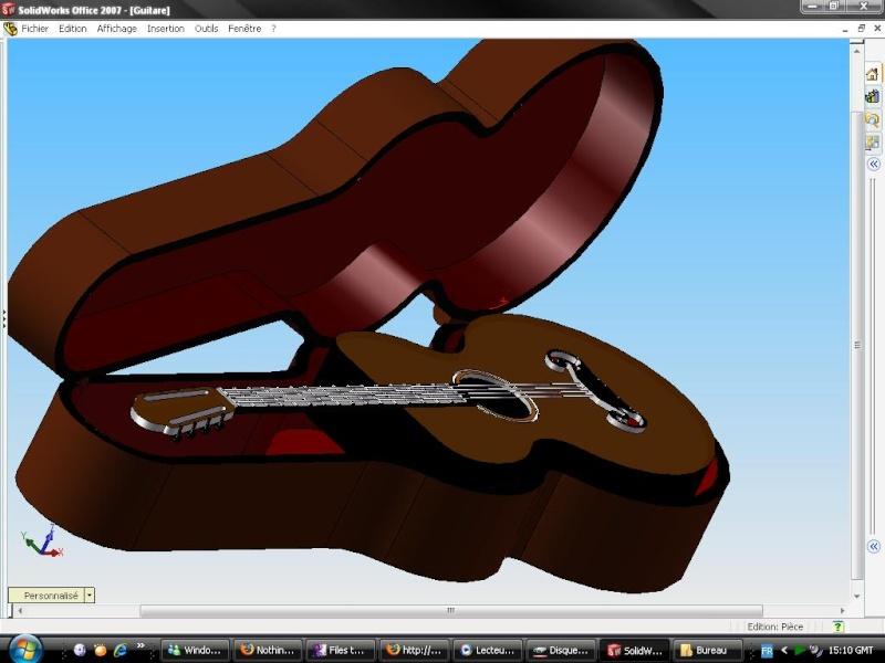 HOT...!!! TUTORIALS SOLIDWORKS Guitar10