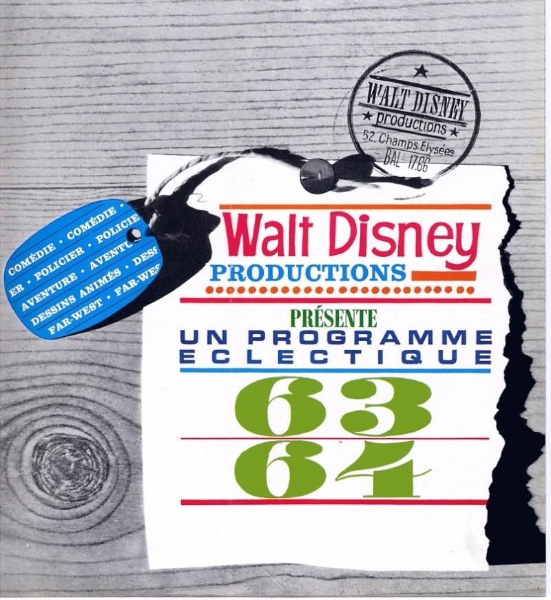 Comment Walt Disney organise la distribution de ces films en France 1963_p10
