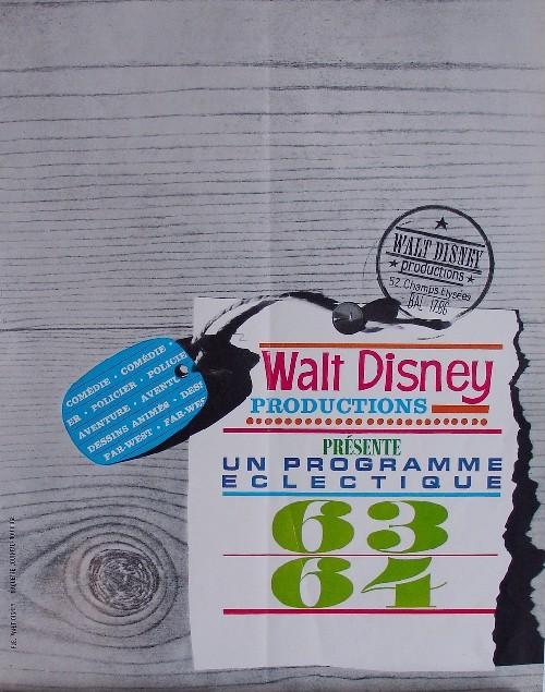 Comment Walt Disney organise la distribution de ces films en France P0110