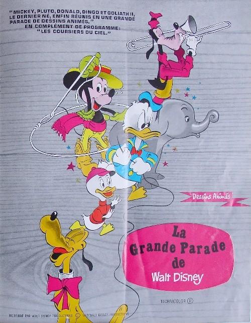 Comment Walt Disney organise la distribution de ces films en France P0710