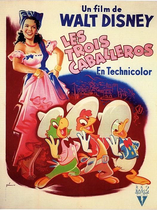 [Walt Disney] Les Trois Caballeros (1944) V_aff_18