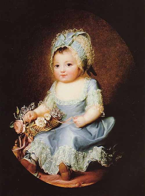 Sophie de Bourbon dite Mademoiselle d'Artois Artoi10