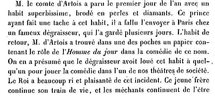 Artois - Le comte Charles-Philippe d'Artois, futur Charles X - Page 3 Bel_ha11