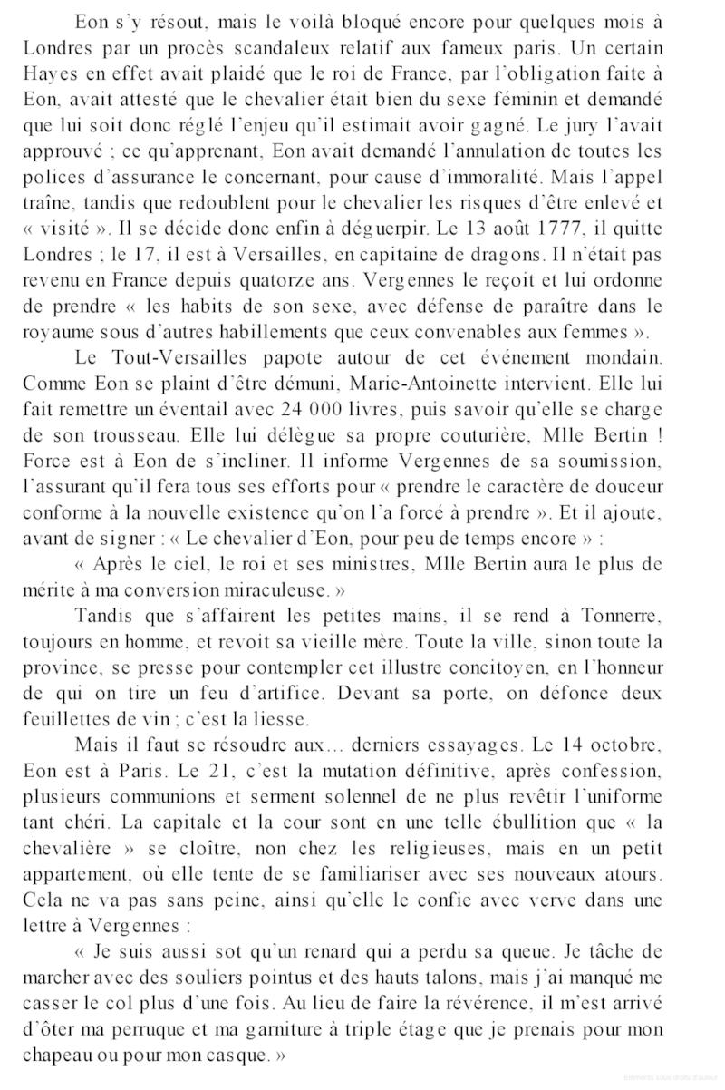 Marie-Antoinette et le Chevalier d'Eon s'écrivent Books_13