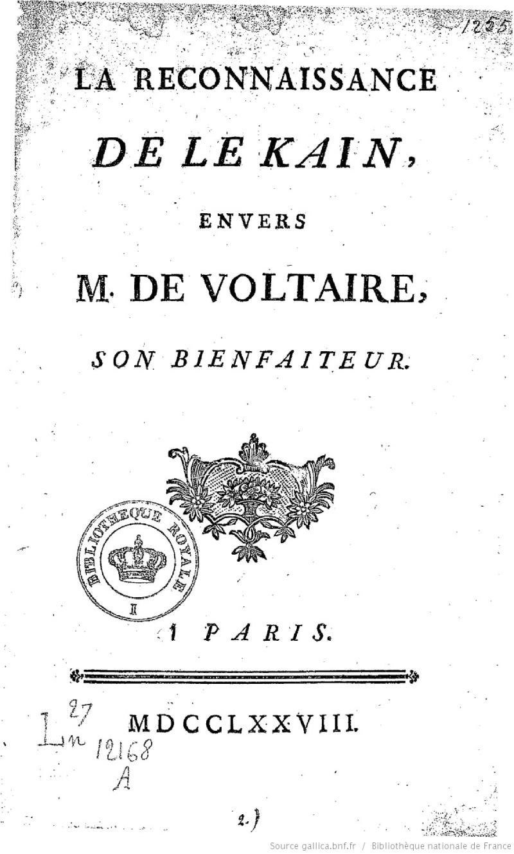 Henri-Louis Caïn, dit LeKain Bpt6k510