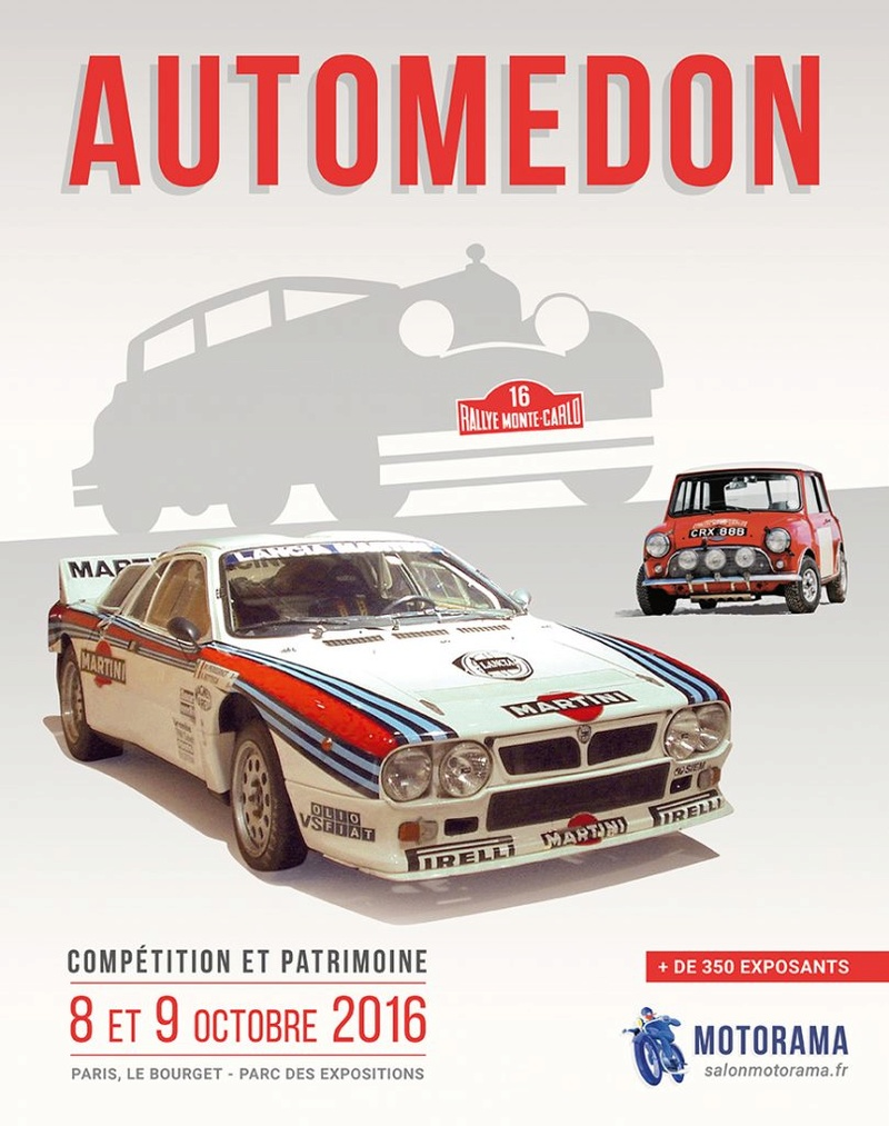 [93][08et09 10 2016][Paris le Bourget]salon automedon Affich10