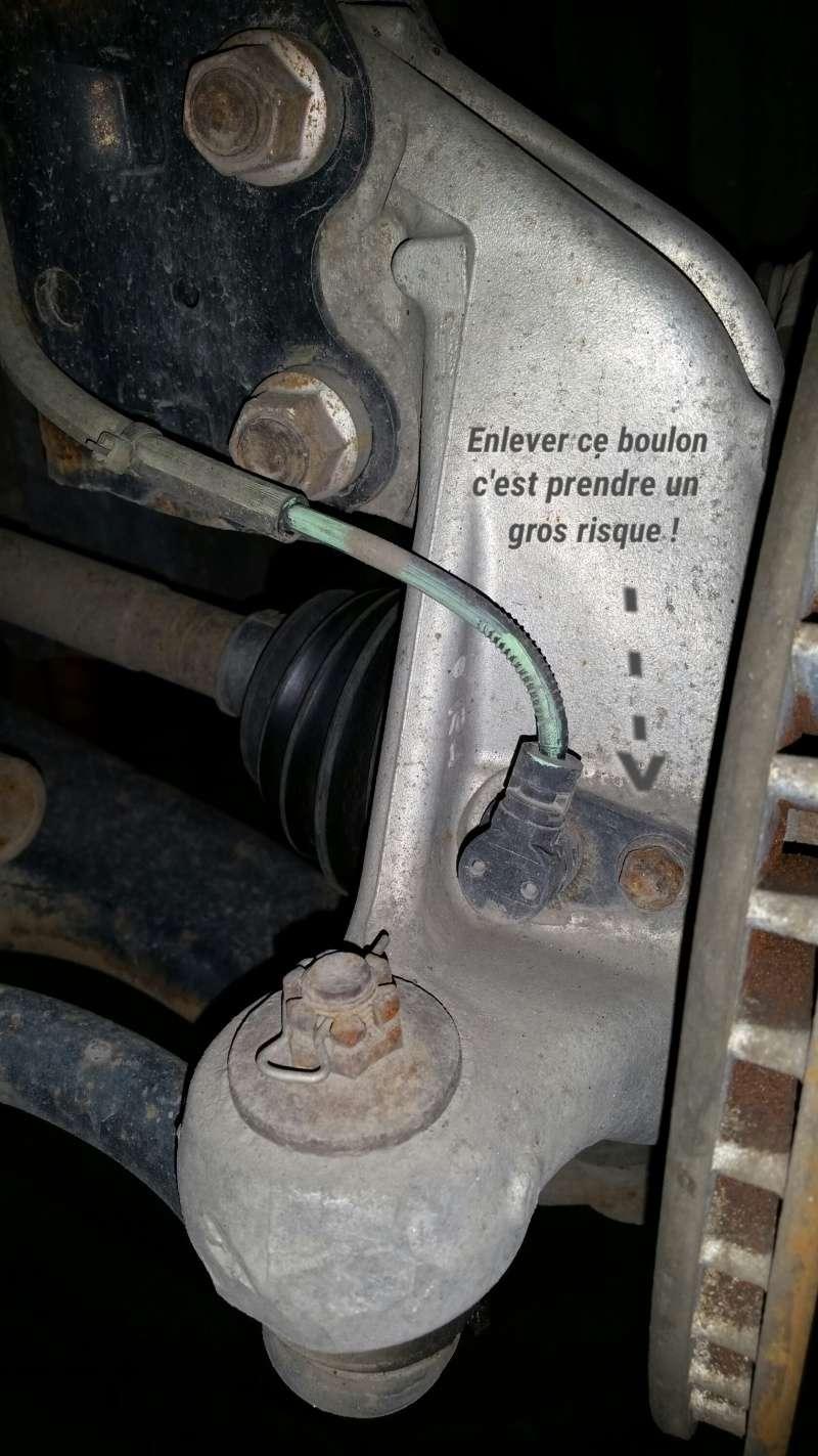 Truc pour boulon brisé au capteur ABS d'une Prius 2005 2016-046