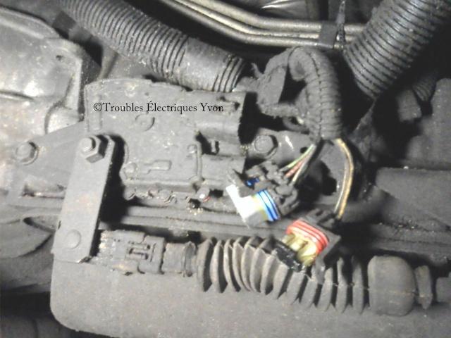 GMC Safari, truc pour enlever les connecteurs sur la trans Sspx3610
