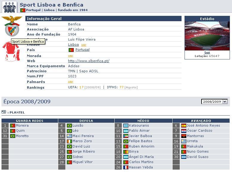 Liga- 1ra Division- Liga Sagres- Portugal Benfic10