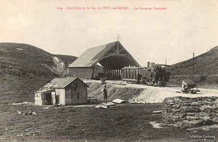 Old French Railway Postcards Pdd310