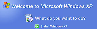 How to format your hard drive and install Windows XP Reinst10