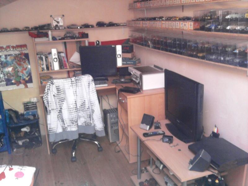 Avez- vous une pièce pour votre collection de jeux et consoles. Photo012