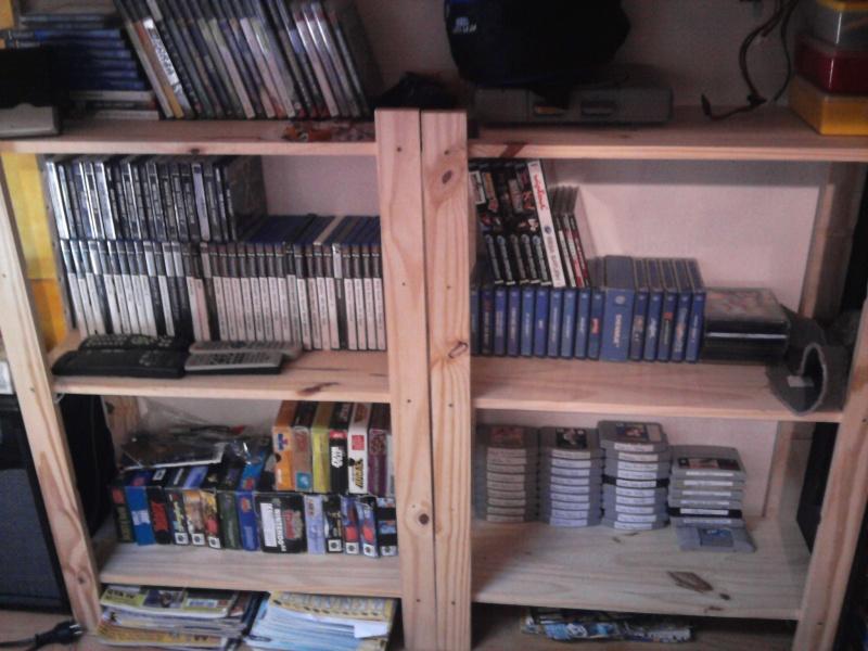 Avez- vous une pièce pour votre collection de jeux et consoles. Photo018
