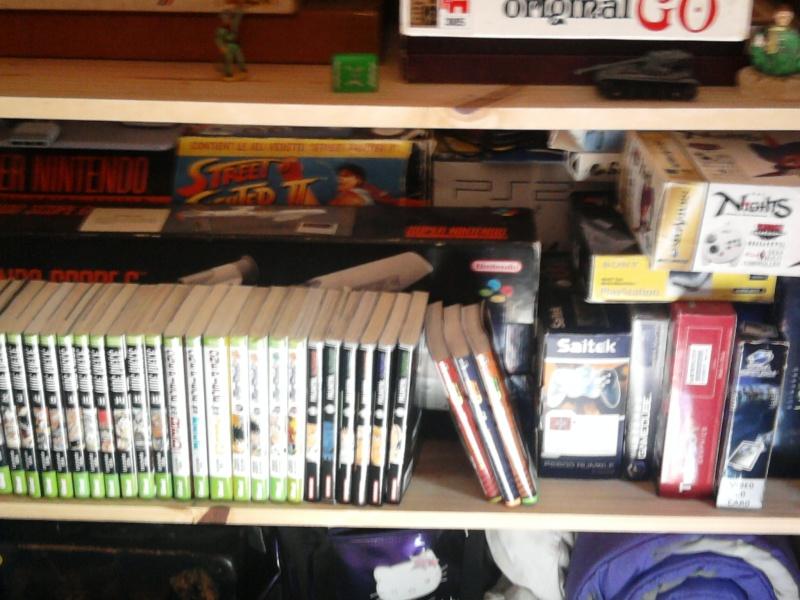 Avez- vous une pièce pour votre collection de jeux et consoles. Photo021