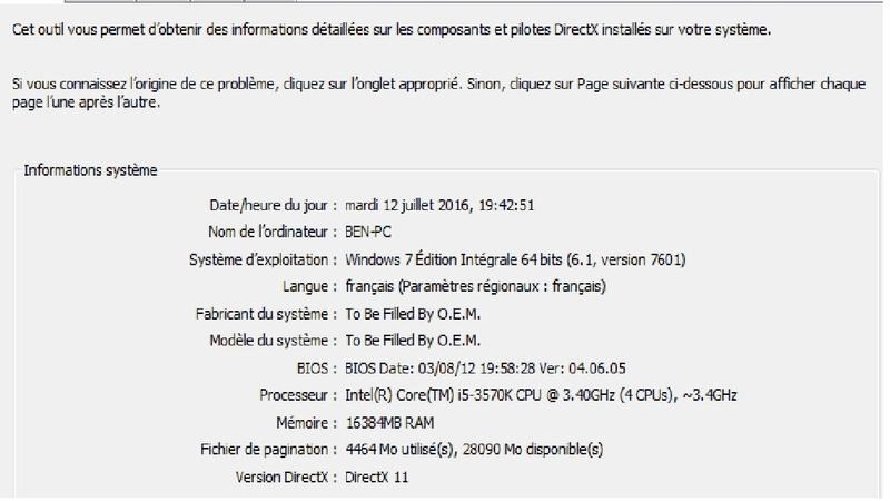Prob clavier BlackWindow 110