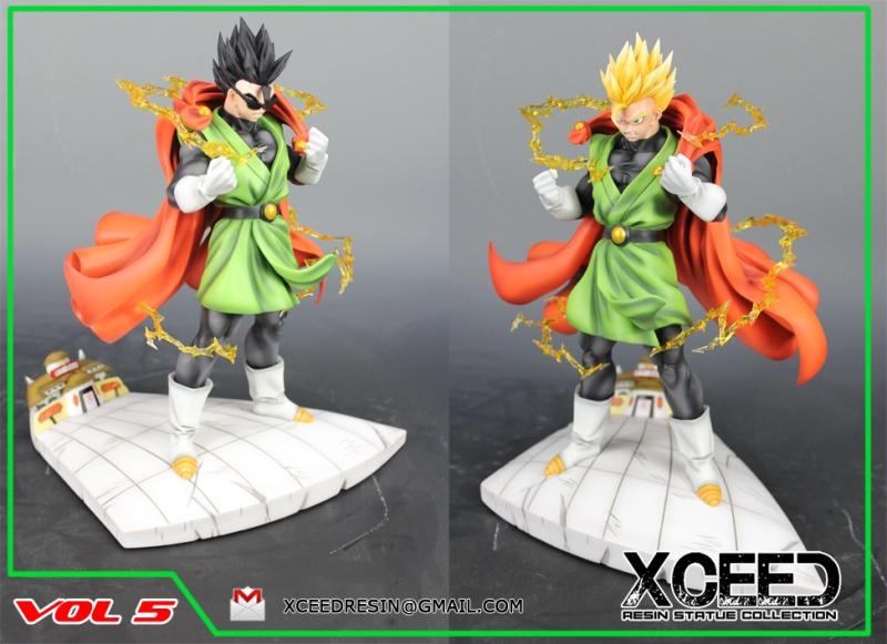XCEED resin figure collection : Vol 7 Goku vs Buu Promo110