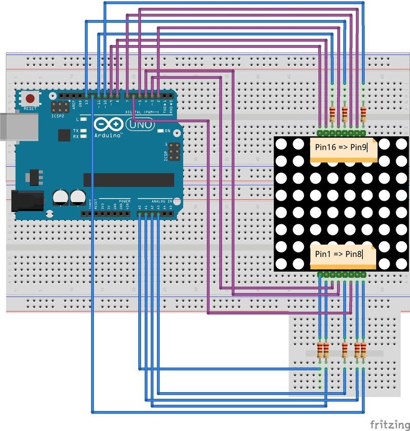 Le monde du micro-contrôleur Arduino uno Montag10