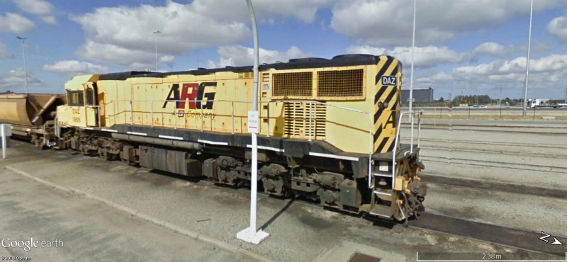 STREET VIEW : LA VIE DU RAIL EN AUSTRALIE - Page 2 410
