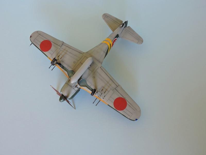 [hasegawa]kawanishi N1K2-J shindenkaï (georges) mais pas de la jungle Shinde25