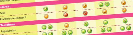 80,5% de clients satisfaits chez Bbox contre 94,5% chez Free 13490011