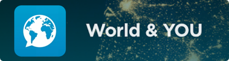 """L'application """"World & YOU"""" se met à jour sur Android 14657110"""