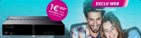 Exclusivité web: Offre en série Limitée Bbox à 1,99€ par mois  14682210