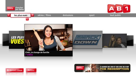 AB1, AB Moteurs, TMC et NT1 disponible en replay sur Bbox TV Ab110