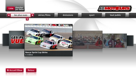 AB1, AB Moteurs, TMC et NT1 disponible en replay sur Bbox TV Abmoto10