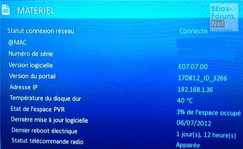Bouygues Telecom communique sur la mise à jour de Bbox Sensation Fibre Firmwa11