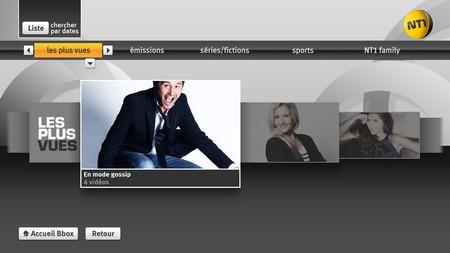 AB1, AB Moteurs, TMC et NT1 disponible en replay sur Bbox TV Nt110