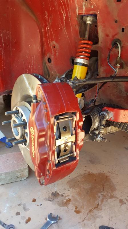 Alfa 75 turbo rouge de piste - Page 2 20160613