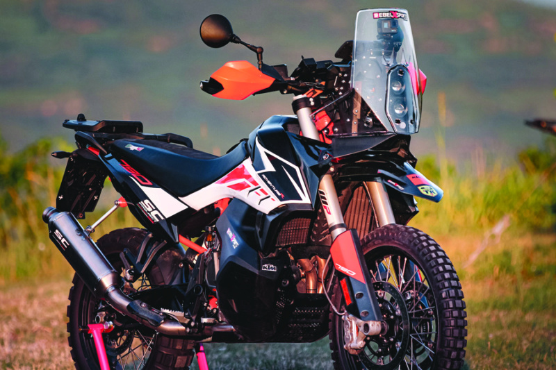 RebelX Sports - KTM 790 Adventure Rally Conversion Kit Rebel_11