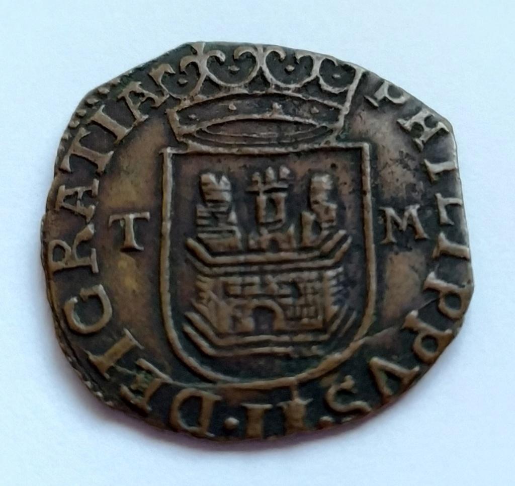 Bonito Cuartillo de Real (1566-1597)  Felipe II ceca de Toledo Img_2010