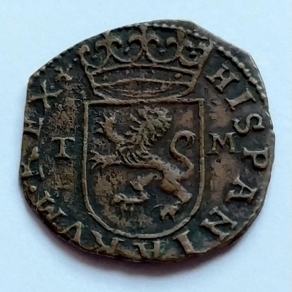 Bonito Cuartillo de Real (1566-1597)  Felipe II ceca de Toledo Img_2011