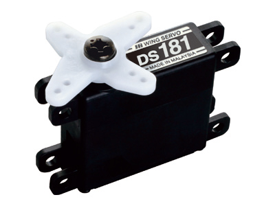 Servos d'aile JR DS 181+ support avec roulement Ds18110