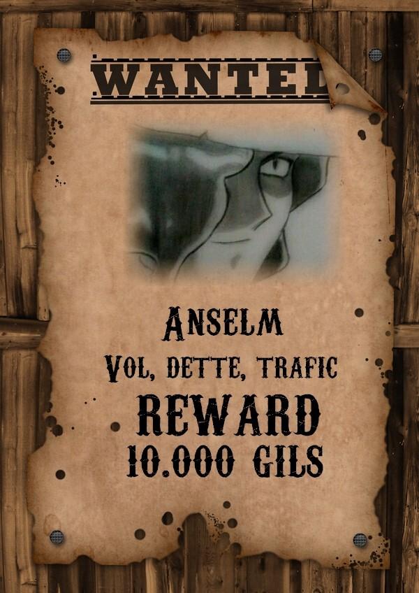 Wanted - Anselm Yuno Anselm11