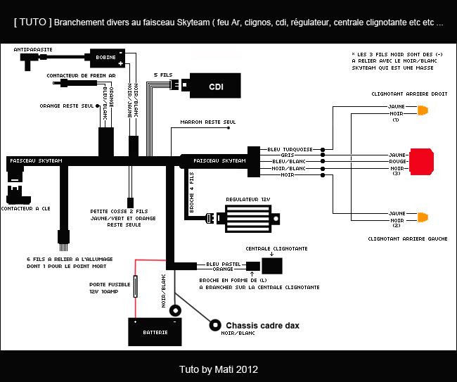 97 schema electrique honda dax