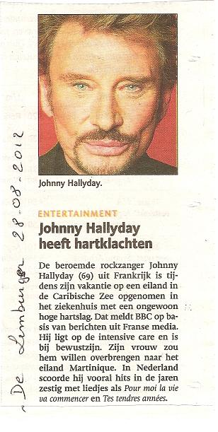 Johnny dans la presse Hollandaise..... Kopie_14