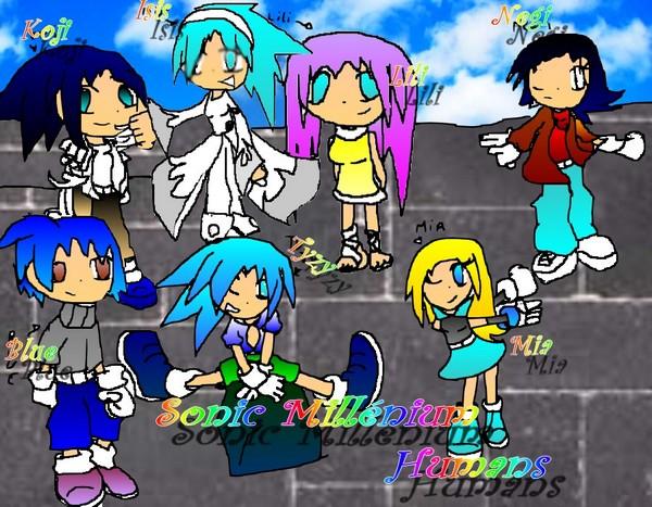 Sonic millénium Humans!!!!!!!!!!!!! Millan11