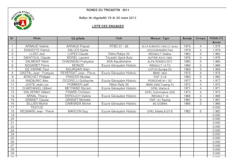 Ronde du Tricastin 2011 - Page 2 Liste_10