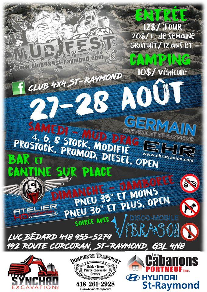 MudDrag/Parcours St-Raymond ce week-end 13692810