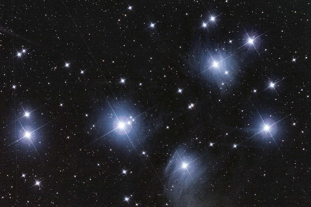 m33 et les pleiade Pleiad10