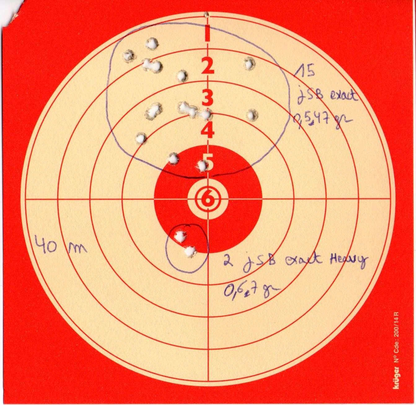 Walther LGV 4,5 à 40m C110