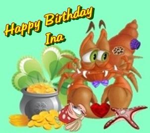 Happy birthday Ina Catina10