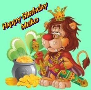 Happy Birthday Geburtstagskind Meiko  Meiko10