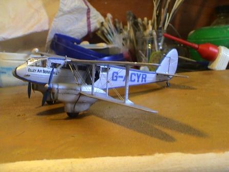 [Heller] De Havilland DH89 Dragon Rapide + Conversion DH 84 Dragon Dh3410