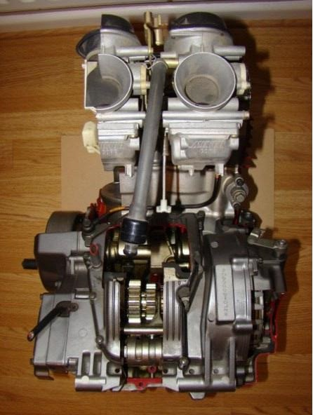Eclaté moteur XTZ 750 Coupe_27
