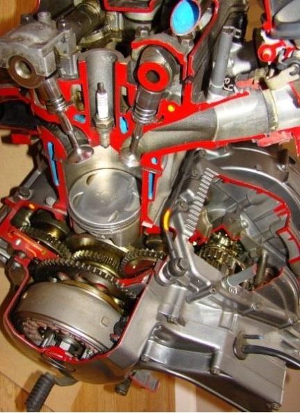 Eclaté moteur XTZ 750 Coupe_30