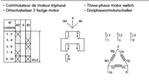 Inversion du sens de rotation d'un moteur 220V tri avec condensateur Inv_tr12
